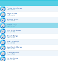 Screenshot of HotSongs
