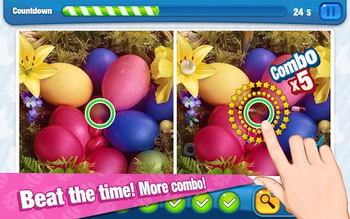 Spot Differences: Easter Eggs - screenshot