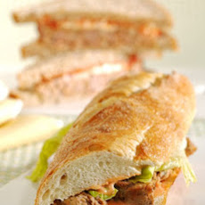 Martha's Turkey Meatloaf Sandwich