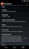Screenshot of SCR Screen Recorder Pro ★ root