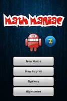 Screenshot of Math Maniac