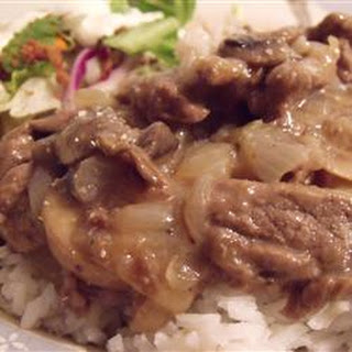 Simply Elegant Steak and Rice
