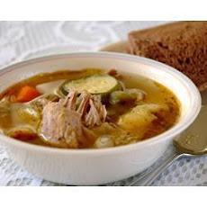Chicken, White Wine and Vegetable Soup
