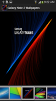 Screenshot of Galaxy Note 2 Wallpaper