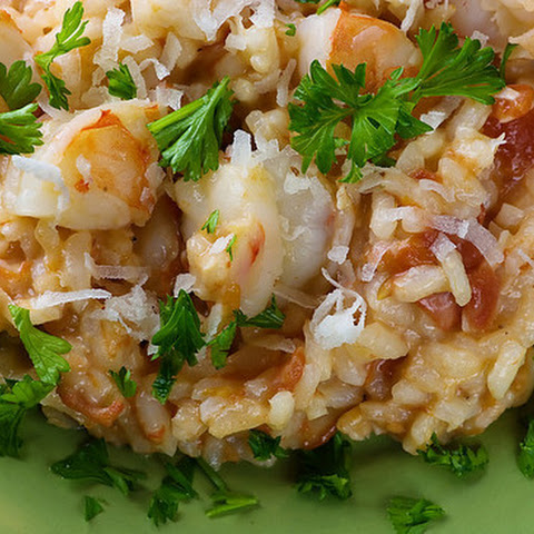 Coconut Shrimp Risotto