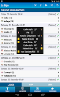 Screenshot of La Liga