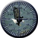 BoP 3 Bald Eagle Analog Clock icon