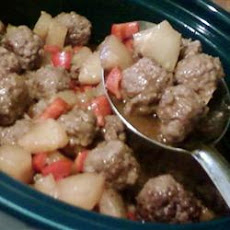 Steph's Zesty Sweet and Sour Meatballs