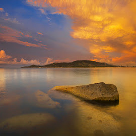burning by Sonni Suryatmojo - Landscapes Waterscapes