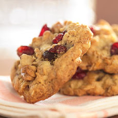 Cranberry Walnut Oatmeal Cookies