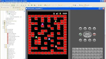 Screenshot of esther jordi guillem pacman