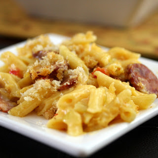Spicy Sausage and Penne Casserole