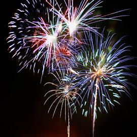 by Jessyka Kaskie - Abstract Fire & Fireworks