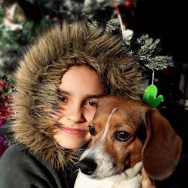 by Marta Raczkowska-Radkiewicz - Instagram & Mobile Android ( dog, people, portrait,  )