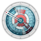Starship Console Clock Widget icon
