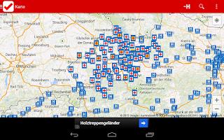 Screenshot of Dienstplan RK OÖ FREE