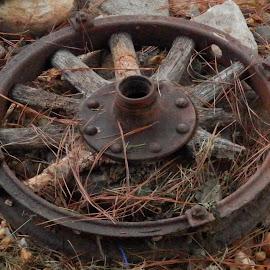 flat tire? by Floranda Rene - Transportation Other ( 3, 2, 1, 5, 4 )