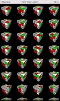 Screenshot of Speed Cube Algorithms Lite