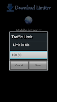 Screenshot of 3G Download Limiter