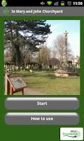 Screenshot of Ss Mary and John Churchyard