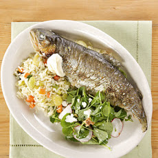 Roasted Trout with Dill and Lemon