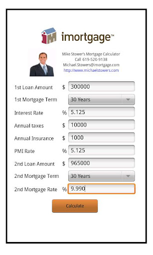 Mike Stower's Mortgage Calc