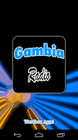 Screenshot of Gambia Radio