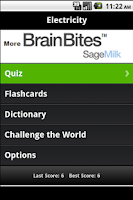 Screenshot of Electrician Flashcards & Quiz