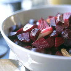 Roasted Beets and Shallots
