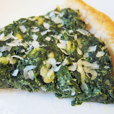 Three-Cheese Hearty Greens and Puff Pastry Tart