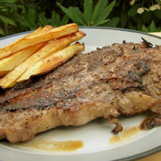 Pan Seared T-Bone Steak