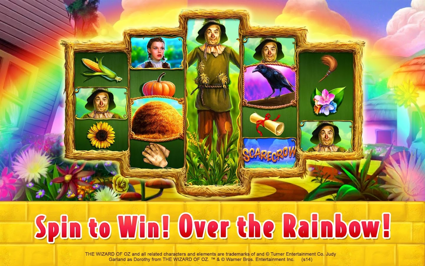 wizard of oz slots bonus wheel