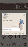 Screenshot of ZMilk GO SMS THEME