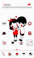 Screenshot of Couple dodol launcher theme