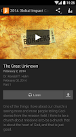 Screenshot of The Heights Baptist Church App