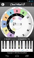 Screenshot of Chord Wheel: Circle of 5ths LE
