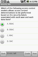 Screenshot of CompTIA Security+ Test Prep