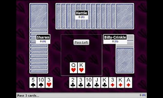 Screenshot of Hearts Card Game FREE