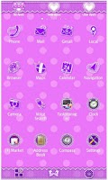 Screenshot of Purple polka dot for [+]HOME