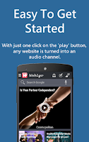 Screenshot of Web2go: Listen to Any Website