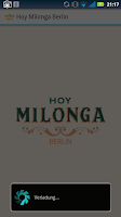 Screenshot of Hoy Milonga Berlin