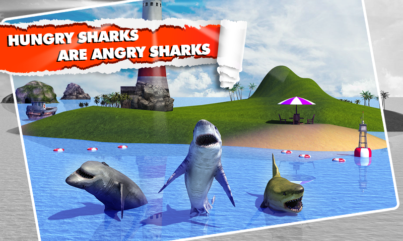 Angry Shark Simulator 3D Screenshot 2