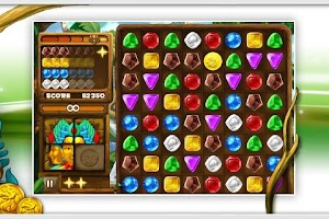 Screenshot of Jungle Jewels Free