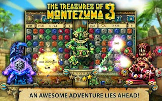 Screenshot of Treasures of Montezuma 3 free