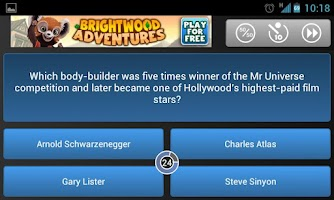 Screenshot of Category Quiz (Trivia)