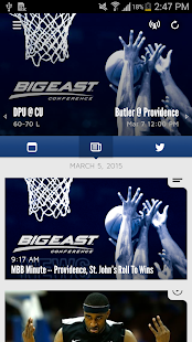 BIG EAST Tournament - screenshot