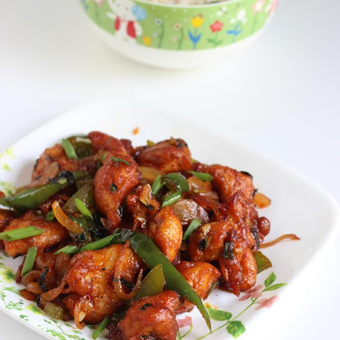Chilli Chicken Dry Recipe, Chinese Chilli Chicken