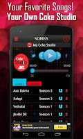 Screenshot of Coke Studio @MTV Songs