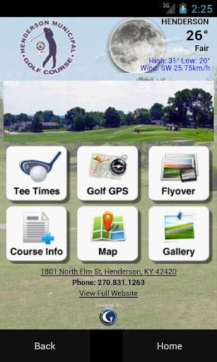 Henderson Municipal Golf Cours