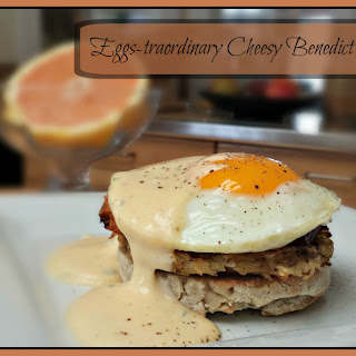 Eggs-traordinary Cheesy Benedict with a Twist